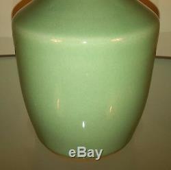 19th Century Antique Chinese'Longquan' Celadon Mallet Porcelain Vase'Kinuta