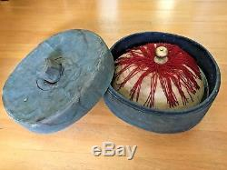 19th Century China Chinese Imperial Qing Mandarin Hat With Original Box