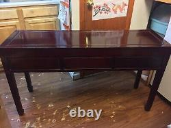 53 Vintage Chinese Rosewood Carving Console Desk
