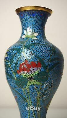 A Chinese Cloisonne'Butterfly and Flower' Vase, 18th Century
