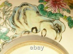 An Antique Vintage Chinese Porcelain Huge Punch Bowl 13