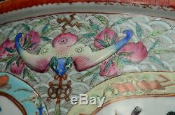 An extremely rare and large Chinese porcelain 19th century jardiniere / planter