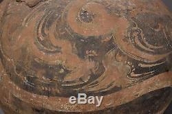 Ancient Chinese Han Dynasty Pottery Terracotta Hu Vase Vessel 206 BC