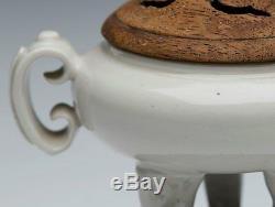 Antique Chinese Dehua Tripod Censer 19th C Or Earlier