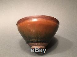 Antique Chinese Jian Ware'Hare's Fur' glazed Stoneware Bowl Song Dynasty