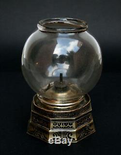 Antique Chinese Paktong Opium Lamp