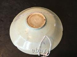 Antique Chinese Qingbai peony-carved Floriform Bowl, SONG dynasty
