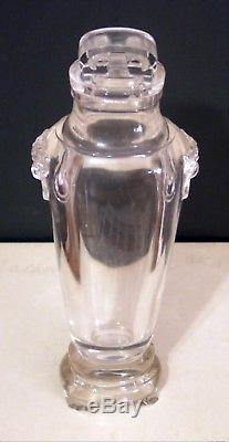 Antique Chinese Rock Crystal Vase Kang H'si