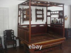 Antique Chinese Wedding / Opium Bed