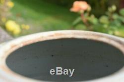 Antique Chinese famille rose porcelain ginger jar Tongzhi period
