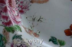 Antique Chinese porcelain plate first half of 18th C Yongzheng / Qianlong