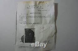 Chinese Antique 19th Century Oxblood Sang de Boeuf Tall Mellon Jar 12 w Paper