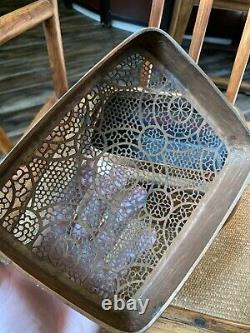 Chinese Antique Bronze Incense burner Qing Ming China Asian
