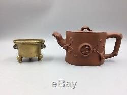 Chinese Antique Bronze Tripod Censer Incense Burner Xuande Mark 17th or 18th C