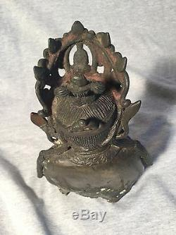 Chinese Bronze Statue Of Buddha