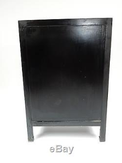 Chinese Chinoiserie Cabinet with Applied stone carvings. 36