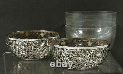 Chinese Export Silver Bowls (2) SIGNED
