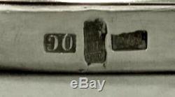 Chinese Export Silver Candelabra c1890 Wang Hing 50 Oz