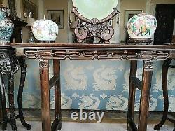 Chinese Hongmu Mahogany Altar Table Qing Dynasty