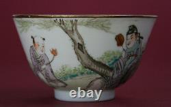 Chinese Porcelain Bowl Republic French Flea Market Find