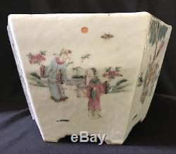 Chinese Porcelain Famille Rose Planter Pot