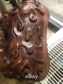 Exceptional Chinese Carved Coral 1346 Grams