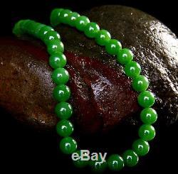 Hetian green jade jasper necklace pendant chain chinese emerald jadeite icy lady