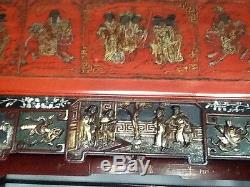 Royal Antique Chinese Bed Qing Dinasty