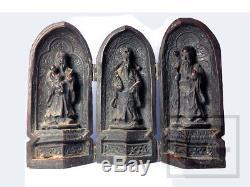 The Sanxing CHINESE 3 Gods FU LU SHOU Figurine Statue gtahy