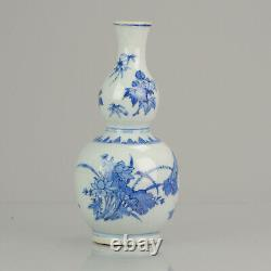 Top Quality Chinese Porcelain 17th C Transitional Double Gourd Vase China