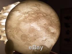 Very Beautiful Chinese Jade Box. Mark