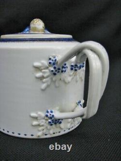 10 Pc. Fin Du 18ème Siècle Chinois Export Porcelaine Partielle Ensemble De Thé Avec Théière