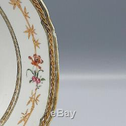 18ème Siècle Chinois D'exportation Famille Rose Armorial Plate Jackson