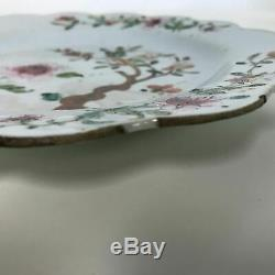 18ème Siècle Export Plaque De Porcelaine Chinoise