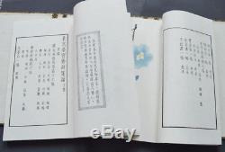 1955 Rare Livres Chinois Qi Baishi Zhang Da Peintures En Bois En 2 Volumens