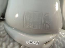 19 Antique C. Porcelaine Chinoise Dehua Guanyin Statue & Poisson Blanc De Chine 11