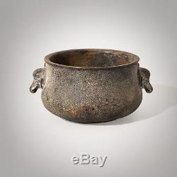 2.36 Rare Antique Bronze Antique Brûleur D'inspiration Great Decoraction Xuande Période
