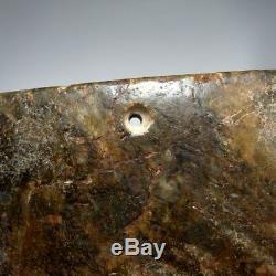 3000 Bc Cérémonie Néolithique Jade Ax Liangzhu Stone Age Chinois Néphrite Chine