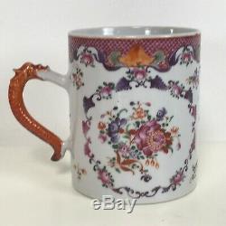 Antique 18 C Porcelaine Chinoise Tasse D'exportation