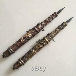Antique (2) Les Anciennes Armes Chinoises Cachées Dans L'épée Du Poignet