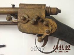 Antique Antique Douille Arme Cachée Chinois Flèche
