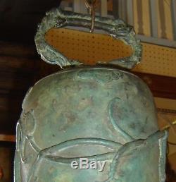 Antique Bouddha Bouddhiste Bouddhiste Bouddha Bouddha Très Grand Bronze Chinois Antique Très Orné
