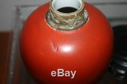 Antique Chinese Ox- Blood Red Porcelain Jar