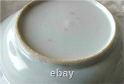 Antique Chinois Bleu Et Blanc Plaque De Porcelaine Dish Bowl X 2 Kangxi 1662 1722