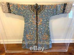 Antique Chinois Dragon Impérial Robe Dynastie Qing