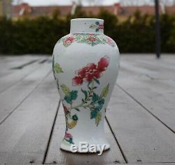 Antique Porcelaine Chinoise De Famille Est Passé De Qianlong