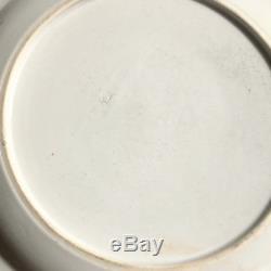 Assiette En Porcelaine De Chine Famille Rose Antique Du Xviiie Siècle À L'exportation Qianlong