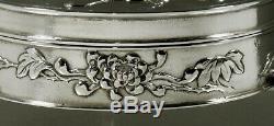 Bijoux Argent Export Chinese Box C1890 Signé