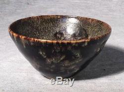 Bol De Tasse À Thé En Poterie Chinoise, Dynastie Des Song Du Nord, Jizhou