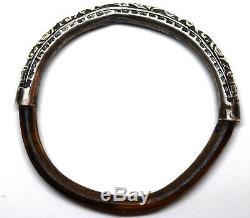 Bracelet Chauve-souris En Argent Sterling Et Bambou